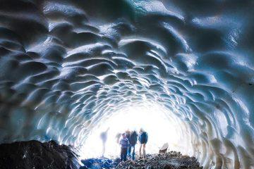 Tuneles de Hielo en Esquel