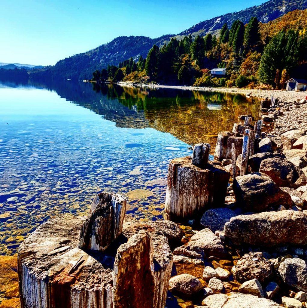 Lago Moquehué - Fotografía: omaralexismoya